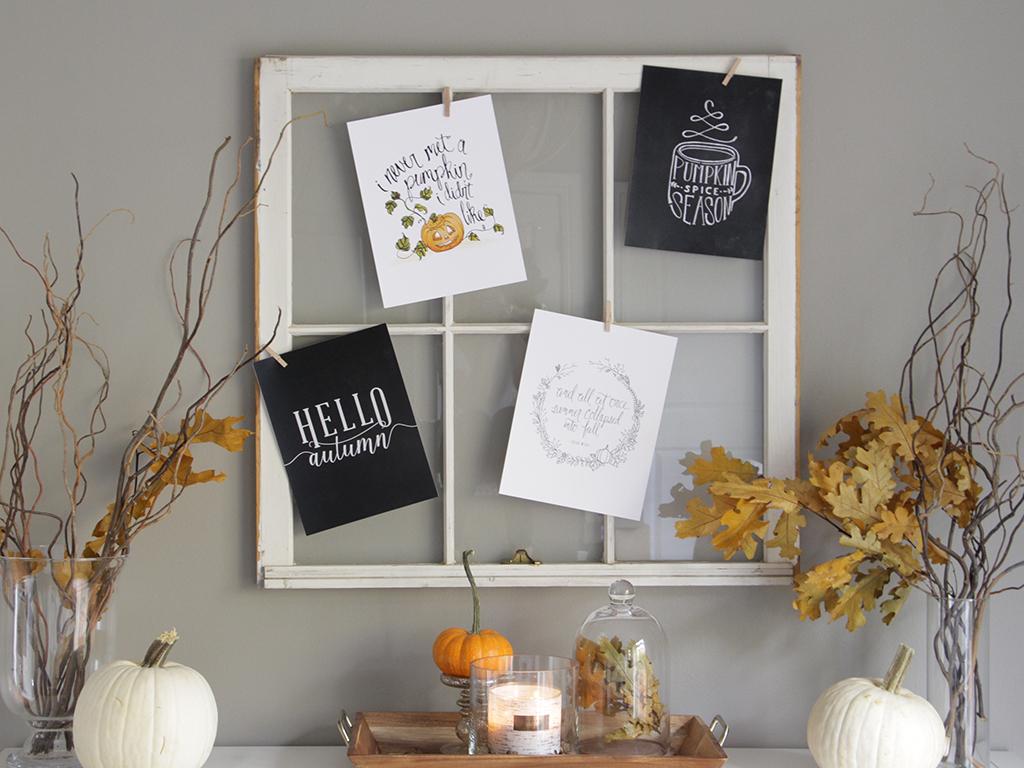 BIG NEWS!! Custom Fall Prints are Here!