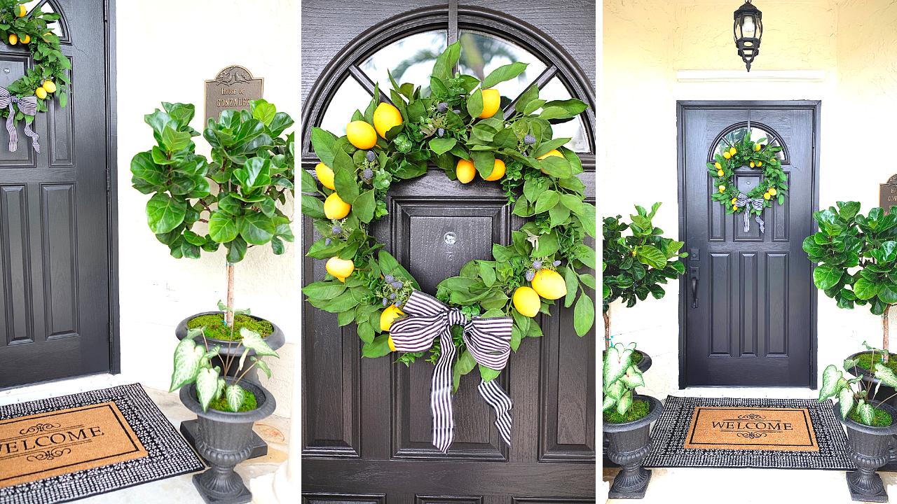 Porch Decorating Ideas / DIY Makeover