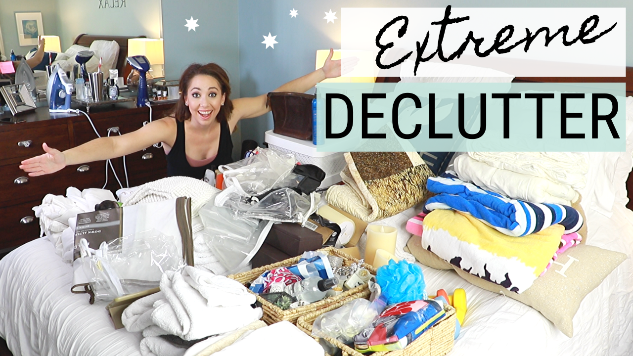 Linen Closet Declutter: Extreme Before and After Decluttering