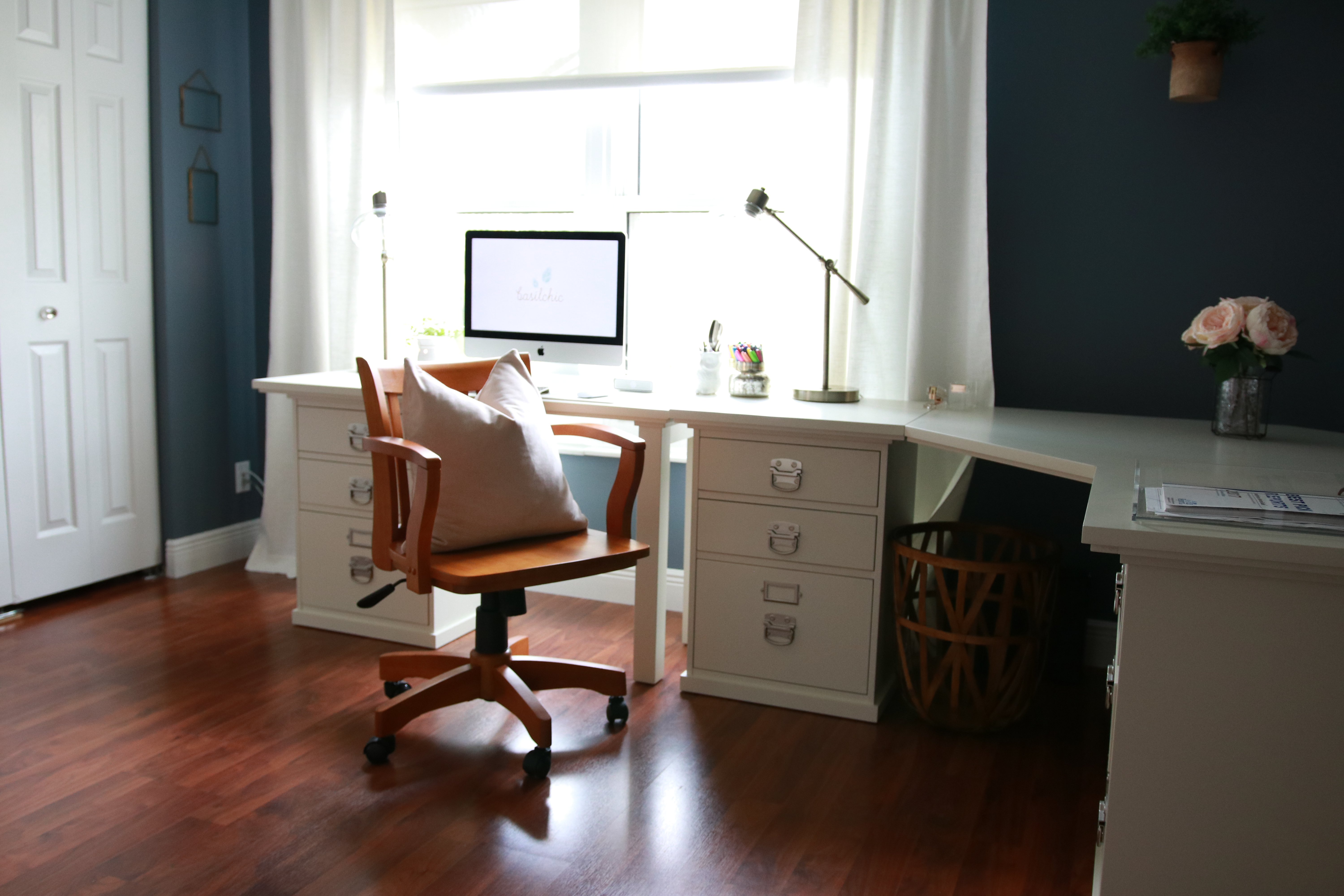 Home Office Design – Office Decor Ideas (Part 1 of 4 in Office Organization Series)
