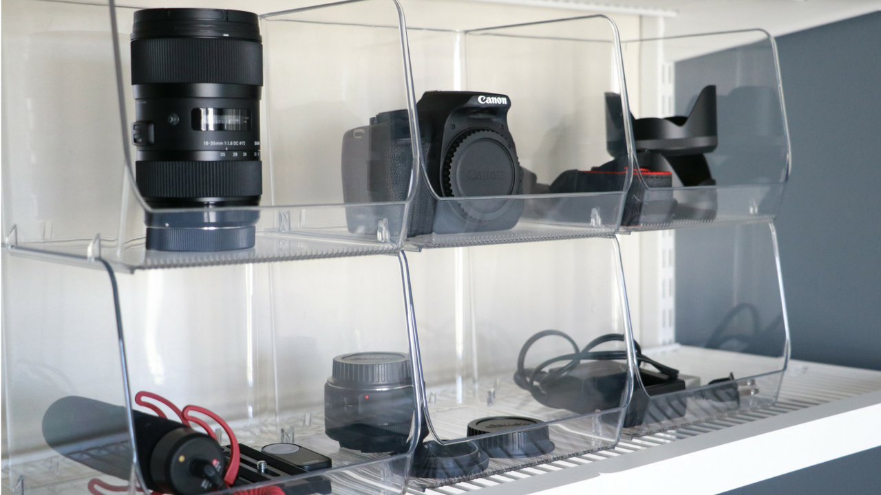 Easy Camera Equipment Organization!