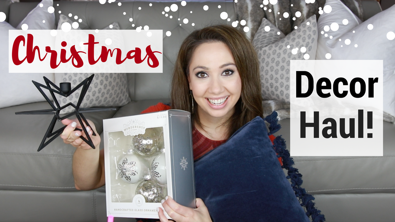 Home Decor Haul: Christmas + Hearth & Hand + Target + QVC + Kirkland's + More!