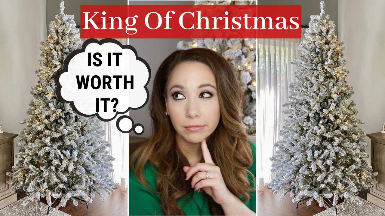 King of Christmas – Flock Christmas Tree Review