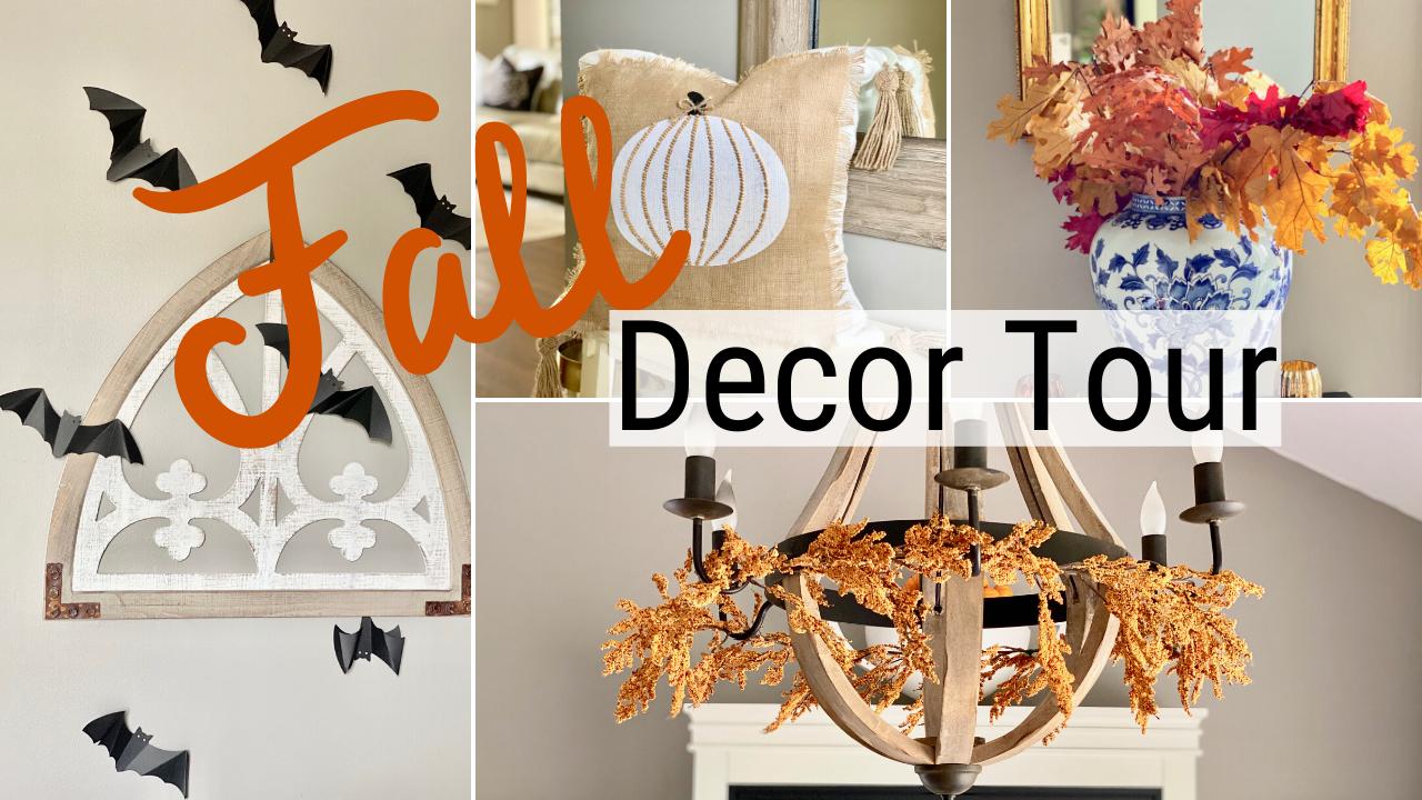 Fall Home Decor Tour 2019 & Decorating Ideas